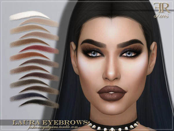 The Sims Resource: Laura Eyebrows by FashionRoyaltySims