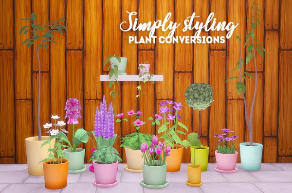 LinaCherie: Simply styling plant conversions