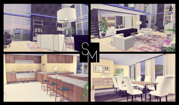 Simming With Mary: Stoneway House