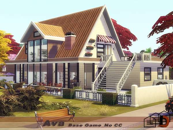 The Sims Resource: Ava house by Danuta720