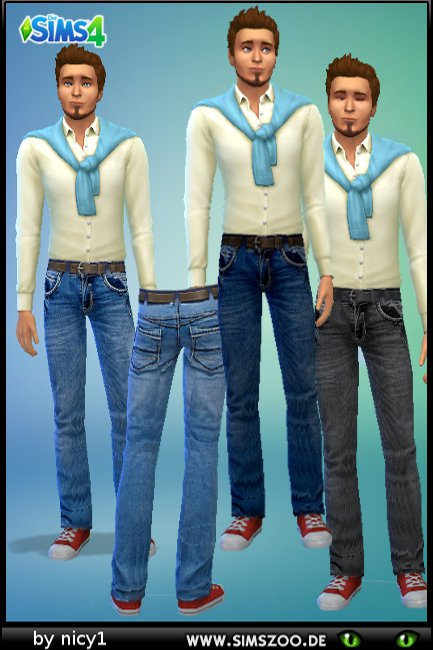 Blackys Sims 4 Zoo: Jeans M0218n1 by nicy1