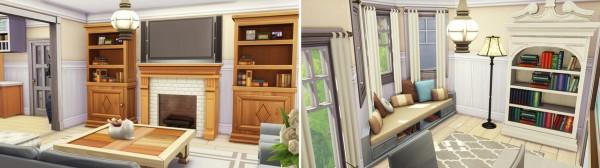 Aveline Sims: Blue Brindleton Home