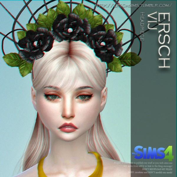 ErSch Sims: VIJ Headpiece