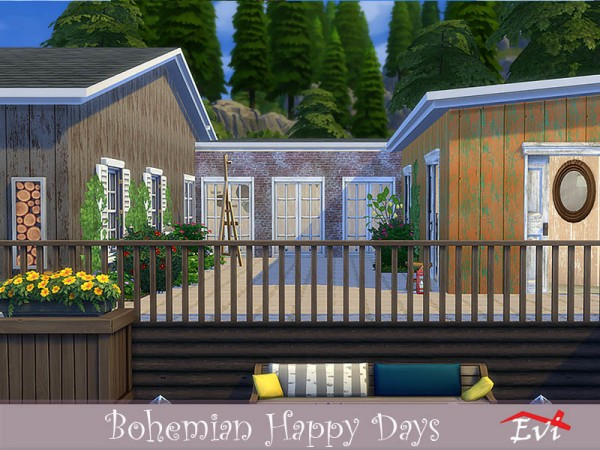 The Sims Resource: Bohemian Happy days by evi