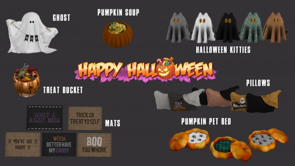 Leo 4 Sims: Happy Halloween