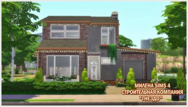 Sims 3 by Mulena: House Paradise no CC
