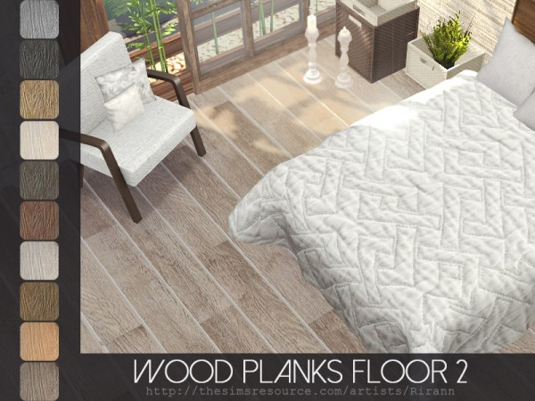 The Sims Resource: Wood Planks Floor 2 by Rirann