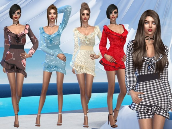The Sims Resource: Annabel Dress by Sims House