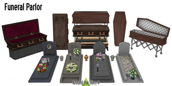 Around The Sims 4: Funeral parlor