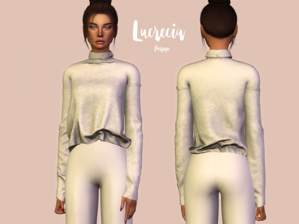 The Sims Resource: Lucrecia Sweater by laupipi