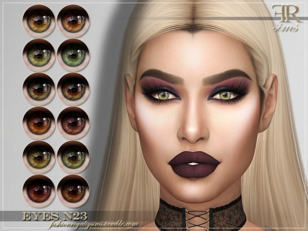 The Sims Resource: Eyes N23 by FashionRoyaltySims