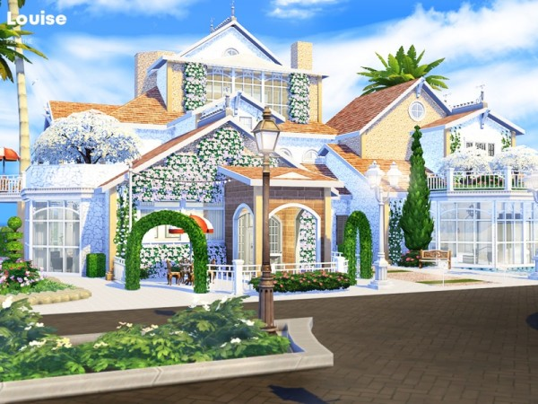 The Sims Resource: Louise house by Pralinesims