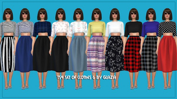All by Glaza: Set of clothes 6