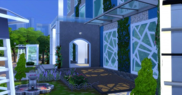 Luniversims: The magnolias House by  Coco Simy