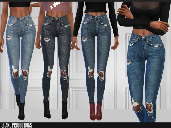 The Sims Resource: Jeans 187 by ShakeProductions