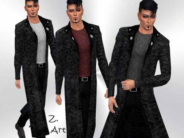 The Sims Resource: Goth Chic VI Outfit by Zuckerschnute20