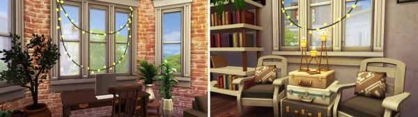 Aveline Sims: Industrial Tumblr Apartment