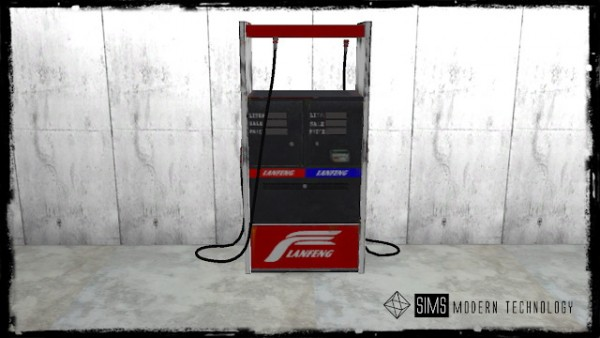 Sims Modern Technology: Gas Pump and Hoses
