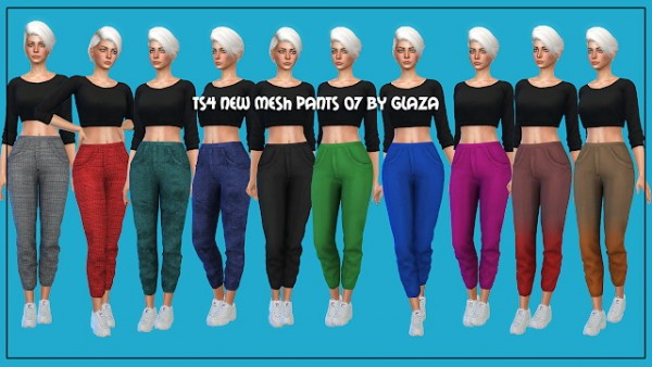 All by Glaza: Pants 07