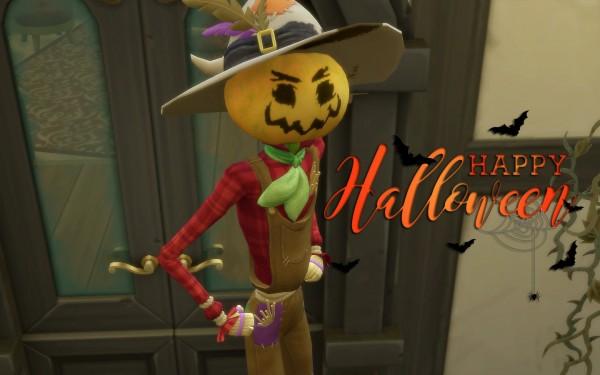 Via Sims: House 63 Halloween Home