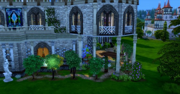 Luniversims: Castle Brunesim by Coco Simy