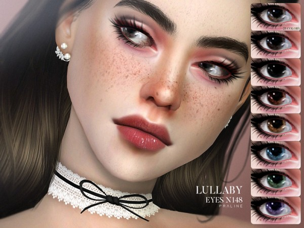 The Sims Resource: Lullaby Eyes N148 by Pralinesims