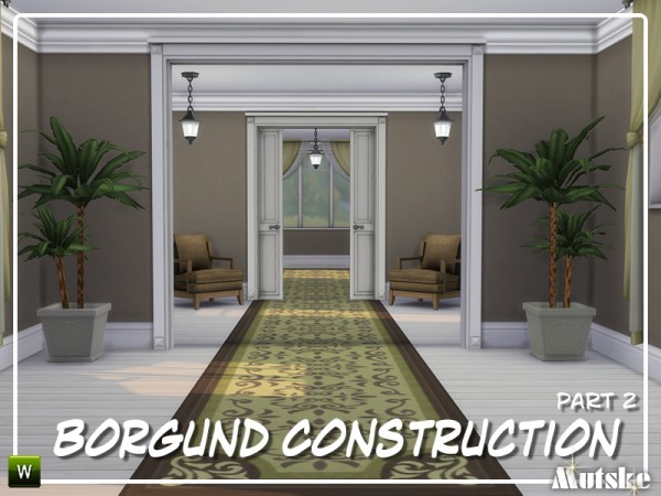 The Sims Resource: Borgund Constructionset Part 2 by mutske