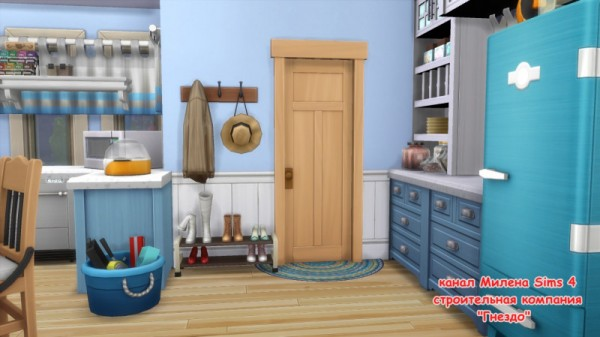 Sims 3 by Mulena: House Beach no CC