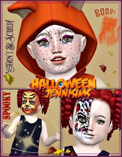 Jenni Sims: Makeup Halloween October Days