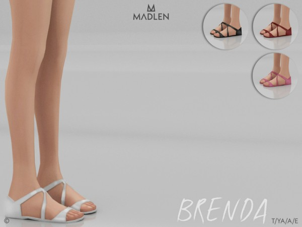 The Sims Resource: Madlen Brenda Shoes by MJ95