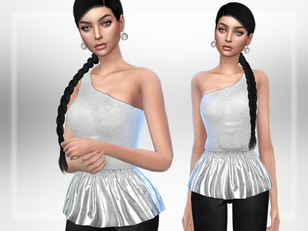 The Sims Resource: Josie Top by Puresim
