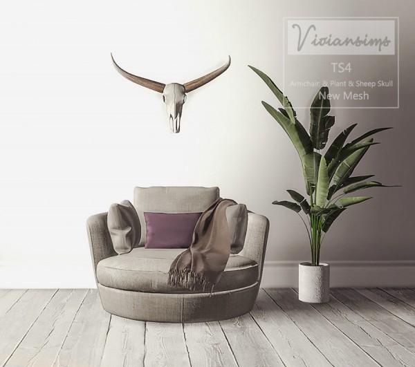 Vivian Sims: Autumn Livingroom