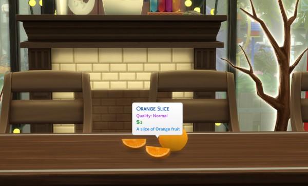 Mod The Sims: Harvestable Orange by icemunmun