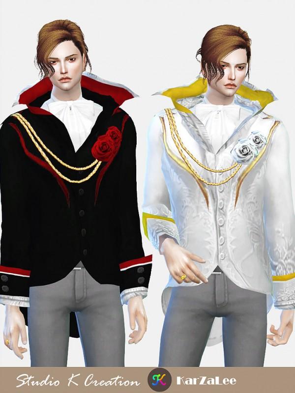 Studio K Creation: Darksouls High collar jacket