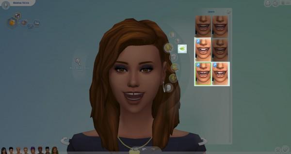 Mod The Sims: Teeth Genetic by Nova JY