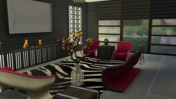 Mod The Sims: Architectural Modernity House (no CC required) by aramartir