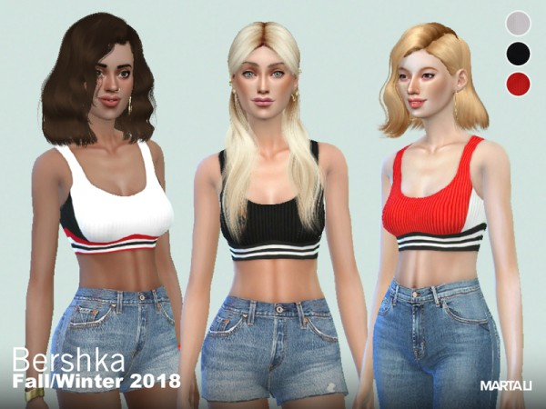 The Sims Resource: Marta Li  Sports Bra by martalisofia