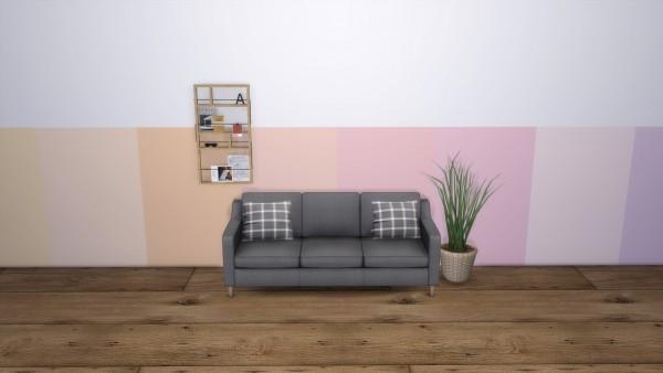Models Sims 4: Modern Pastel   Wall