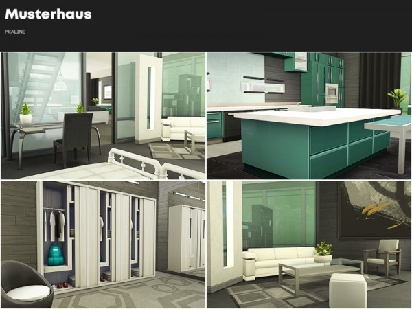 The Sims Resource: Musterhaus by Pralinesims