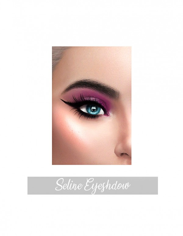Frost Sims 4: Seline Eyeshadow