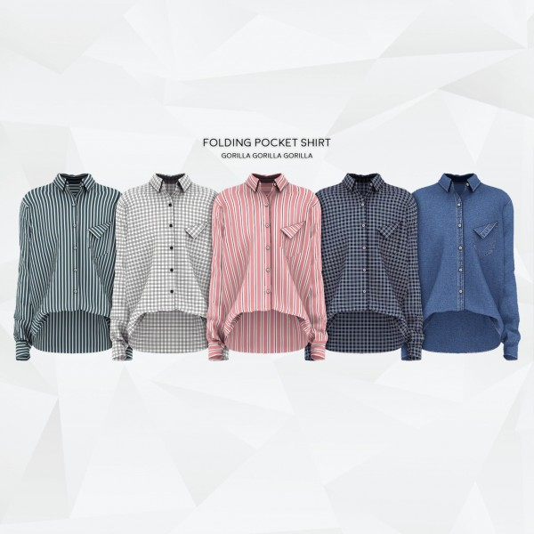 Gorilla: Folding Pocket Shirt