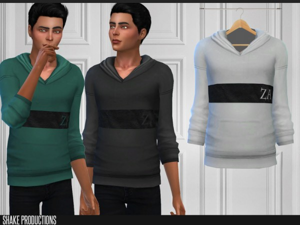 The Sims Resource: Sweatshirt 183 by ShakeProductions