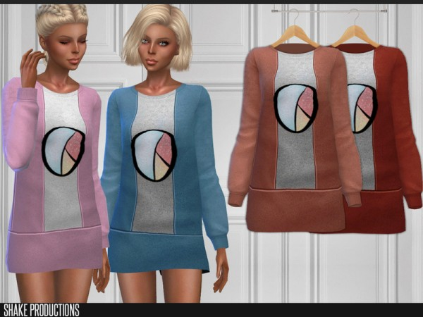 The Sims Resource: Dress 180 by ShakeProductions