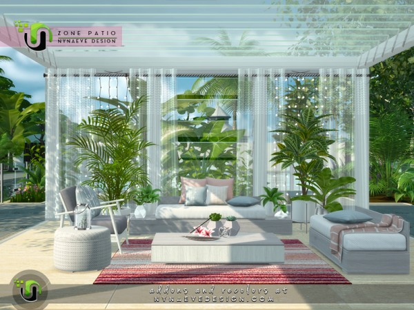 The Sims Resource: Zone Patio by NynaeveDesign