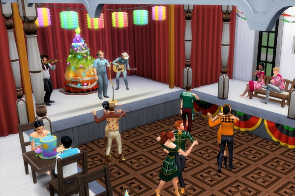 Strenee sims: Let's Do Si Do: Square Dance Outfits