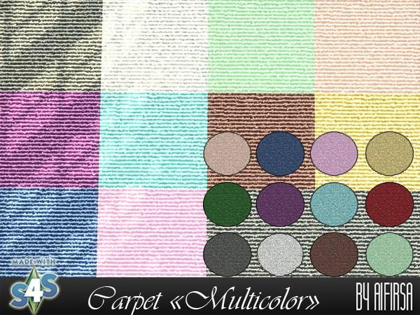 Aifirsa Sims: Carpet Multicolor