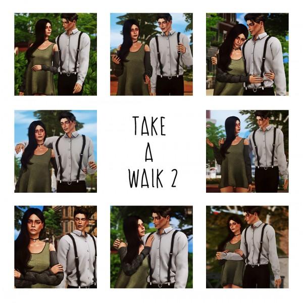 Andromeda Sims: Take a walk pt 2 poses