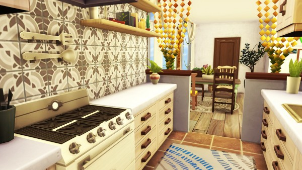 Aveline Sims: Artsy Boho Apartment • Sims 4 Downloads