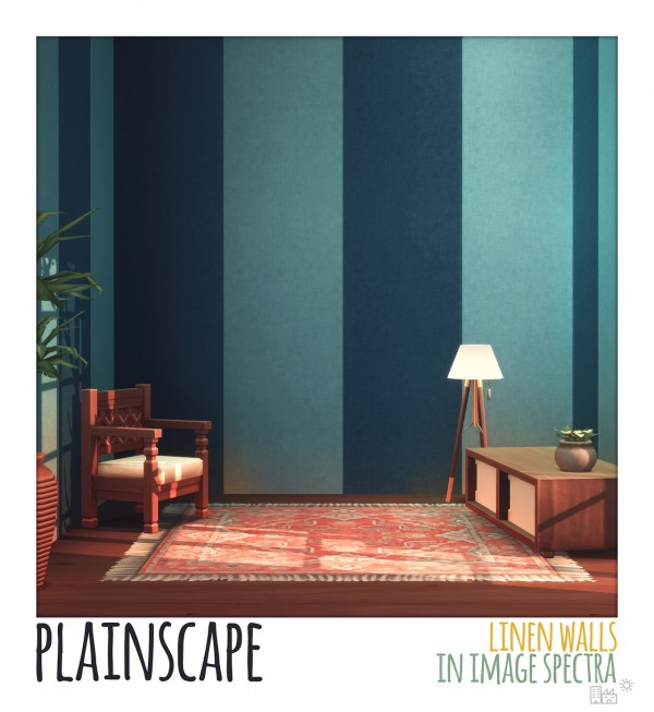 Picture Amoebae: Plainscape Walls in image spectra