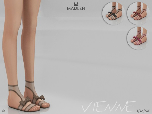 The Sims Resource: Madlen Vienne Shoes by MJ95